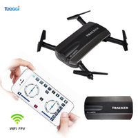 Wholesale Aerial Camera Lens - JXD523 Foldable Tracker Drone with Camera HD Wifi FPV Remote Control Altitude Hold Headless Selfie RC Dron VS JJRC H47