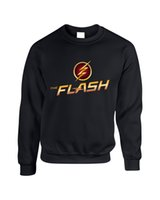 roupa da teoria do big bang venda por atacado-O Flash Star Lab letras GEEK The Big Bang Teoria hoodies camisola streetwear pullovers casuais roupas longas