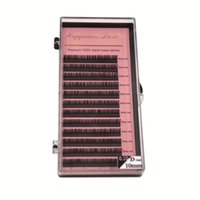 Wholesale lash extensions korea for sale - Group buy HPNESS Lashes C D mm Korea Silk Volume Lashes For Eyelash Extension Trading Academy or Salon