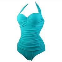 Wholesale swimwear 11 for sale - 11 Styles Sexy Thong High Cut Swimsuit One Piece Bathing Suits Women Swimwear Female Beach Bathers May Swim Suit