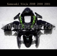 Wholesale painting abs plastics resale online - Motorcycle ABS Plastic Painted Compression Mold Bodywork Fairing Kit Set For Kawasaki Ninja ZX9R