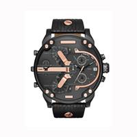 cuarzo brasil al por mayor-2019 Venta caliente Relojes Big Dail 50 MM Relojes para hombre Relojes de pulsera de cuarzo para hombres de negocios de estilo americano de Brasil