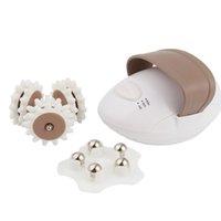 жировой массажный ролик оптовых-Здравоохранение потеря веса 3D электрический всего тела массажер ролик антицеллюлитный массаж стройнее устройство сжигатель жира спа-машина