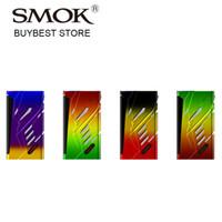 Wholesale Smoktech E Cig - Retail 220W SMOK T-Priv TC Box MOD with Hollow out design & Big fire key E-cig MOD No battery
