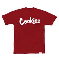 dünne weiße t-shirt männer großhandel-Cookies SF Berner Herren Thin Mint T Shirt Burgund Weiß T-Shirt Kleidung