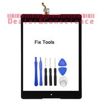 herramientas nexus lcd al por mayor-1 UNIDS Original Negro Para HTC Google Nexus 9 Pantalla Táctil Digitalizador LCD Panel Externo Lovain Glass + Herramientas