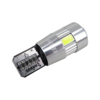 ford фокусные лампы оптовых-WLJH 2x Canbus автомобиля 5630 SMD T10 LED W5W объектив проектора авто лампа лампы для ford focus 2 3 fiesta mondeo