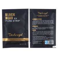 siyah başlı çamur toptan satış-DOBERYL Siyah Yüz Maskesi Burun Siyah Nokta Remover Maske Derin Temizlik Gözenek Temizleyici Mineral Çamur soyulabilir Maske Cilt Bakımı