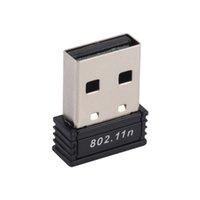 tp mini al por mayor-Mini 150M USB WiFi LAN inalámbrica 802.11 n / g / b Adaptador Nano Network 150Mbps