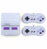 Wholesale handheld game system tv online - Super Classic SFC TV Handheld Mini Game Consoles Newest Entertainment System For SFC NES SNES Games Console Drop