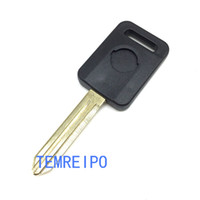 Wholesale transponder for chip - Uncut Ignition Blank Chipped Car Key no Chip Transponder Chip Key Fit For NISSAN Teana Tiida Qashqai