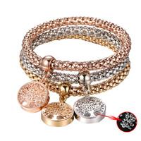 ingrosso catena di gioielli per le donne-6 Stili Nuovo arrivo Vintage Designer Austriaco strass Colore oro Bracciali con ciondolo gioielli Gioielli per donne