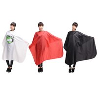 Wholesale Hairdressing Aprons Wholesale - High-grade Salon Hair Cut Hairdressing Barbers Waterproof Gown for Women Men Professional Waterproof Apron Cape Cloth