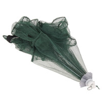 Wholesale catchers gear for sale - Group buy 6 Holes Fishing Net Folding Hexagon Fish Network Casting Nets Crayfish Shrimp Catcher Tank Trap China Cages Mesh Cheap