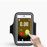 be2f12a3e0b Impermeable Sport Gym Brazalete para Galaxy S7 / S6 / S5 / S4 / S3 A5 A3  Funda para teléfono móvil Funda para bolso Funda para llavero