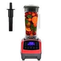 Wholesale mixer juicer - Automatic Digital Smart Power Blender Food Mixer Fruit Processor 3HP BPA 2200W Broken Machine Kitchen Juicer BBA218