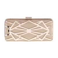 Wholesale united iron resale online - Tide cool Women handbags new banquet clutch bag Europe and the United States popular hollow iron mesh evening bag Messenger