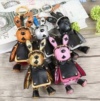 Wholesale fashion korea - Space Rabbit Fashion New South Korea Handbags Car Keychain Star Rabbit Package Pendant