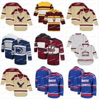 leão filmes venda por atacado-Homens Bos Eagles camisola de hóquei filme Jersey Penn estado Nittany Lions Coliseu Open Net II camisa de hóquei no gelo