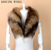 глушители для мужчин оптовых-Men Women Genuine  Fur Scarf 100% Real Natural  Fur Collar Scarves Wraps Good Quality Ring Muffler