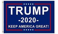 estilo bandeira dos eua venda por atacado-Mais barato 90 * 150 cm Trump 2020 bandeiras Eleição Manter a América Grande bandeira 5 estilos Dupla Face Impresso Poliéster Decor Banner Para O Presidente EUA
