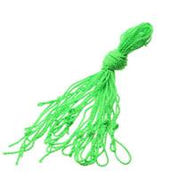 cuerdas de yoyo al por mayor-10 unids / lote cuerda de poliéster para YO-YO Light Professional Kids YoYo Ball Toys Trick String Toy Accesorios Cuerda Verde