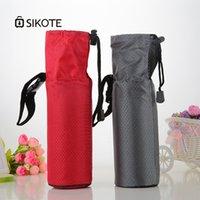 обеденный кубок оптовых-SIKOTE 500 мл Изолированная Сумка для Бутылки Водонепроницаемый Обед Сумка для Чашки Кулер Тепловой Мужчины Travel Lunch Box Дети