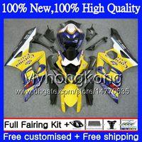 Wholesale Suzuki K5 Corona - Bodywork Motorcycle For SUZUKI GSX-R1000 GSXR-1000 K5 GSXR 1000 05 06 30MY21 GSX R1000 05 06 Bodys Blue CORONA GSXR1000 2005 2006 Fairing