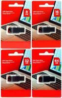 memoria para la venta al por mayor-Venta caliente Unidades Flash USB 4GB 8GB 16GB 32GB 64GB USB 2.0 Memoria USB Plástico U Disco Memory Stick de Alta Velocidad