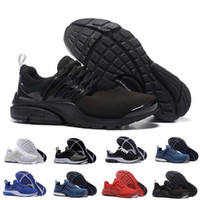 Wholesale black shoe resale online - presto BR QS Breathe all Black White Mens Sneakers Women Men Sports Shoe Walking designer Running Shoes