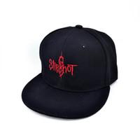3d7d173453a Wholesale adjustable hat bands online - new Slipknot Band Baseball caps  Heavy metal rock band Letter