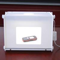 photo light boom achat en gros de-5500LUX 110V-250V 310 * 225 * 230mm SANOTO MK30 Portable Mini LED Light Booms Photo Photographie Studio Lightbox Softbox