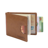 Wholesale gubintu wallets for sale - Group buy Gubintu Wallets Rfid Blocking Wallets Fashion Cute Genuine Leather Money Clip