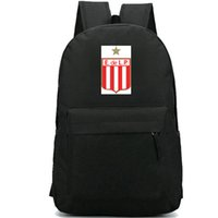 Wholesale power soccer football for sale - Group buy Estudiantes de La Plata backpack Cool daypack Power Football club schoolbag Soccer rucksack Sport school bag Outdoor day pack