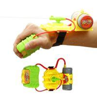 Wholesale intelligent water - Wrist Water Guns Toys Intelligent Children Kid Outdoor Interesting Convenient Spray Toy Beach toys Educational Water Fight Pistol Swimming