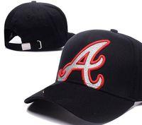 Wholesale braves snapback - New Brand designing Braves Hats Men Women Baseball Caps Snapback Solid Colors Cotton Bone European American Styles Fashion hat