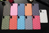 ingrosso anti mobile-FAMOSA Indietro Cassa del telefono mobile Shell per IPhone X XS MAX XR 8 7 6s Plus Lettera Stampa del cellulare Copertura anti-scrach per IPhoneX 8P 7P 6plus