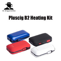 Wholesale Innovative Styles - Original pluscig b2 heating Vape Kit with 2200mAh E-Cig Battery Box Mod Innovative Pin-Style elektronik sigara Dry Herb vape