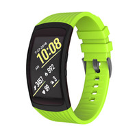 Wholesale watch replacement parts online - Silicone Sport Wrist Band Replacement Watch Strap Belt Part for Samsung Fit Fit2 Por LL