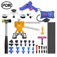 Wholesale cup lifter - PDR Tools Paintless Dent Removal Car Repair Tool Kit Removing Dents Auto Tools Puller Dent Lifter Pulling Bridge Suction Cups