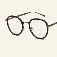 bb08dad9fca4a 2018Nova Marca Designer Mulheres Homens Delicado De Metal Vidros Ópticos  Quadro Moda Eyewear Miopia Prescrição Olho Óculos Quadros