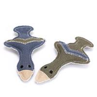 ingrosso forniture di hot dog-Lino Puppy Cat Sound Toys Duck Shape Squeaky Pet mastica Toy Dog Supplies Vendita calda 4 27zj C R
