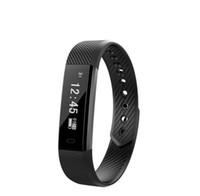temporizador niños al por mayor-Self-Timer Smart Wristbands Activity Tracker Calorie Counter Wireless Podómetro Sport Band Sleep Monitor para Android iOS Phone
