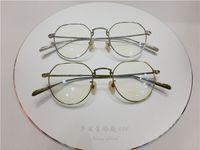 oliver peoples óculos venda por atacado-Oliver pessoas óculos de titânio armações de óculos de armação para homens mulheres miopia marca designer óculos vintage quadro lente clara