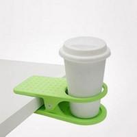 porta-copos de café para escritório venda por atacado-Hot Sales Drink Cup Suporte para café Clipe Home Office Desk Mesa Novo