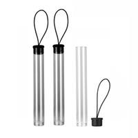Wholesale plastic storage tubes - OEM Transparent Plastic Tube Packing Storage PVC PP Tubes for .3-1g 92A3 CE3 G2 ALD AC1007 Vape Oil Cartridges 510 Vaporizer pens