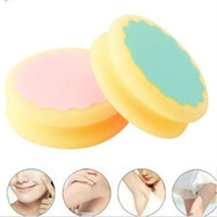 Wholesale body shave - Popular Magic Painless Hair Removal Depilation Sponge Pad Remove Hair Remover Shaving Machine Razor for Leg Arm Underarm CCA9979 60pcs