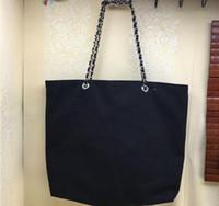 ingrosso nuovi sacchetti cosmetici di stile-Nuovo stile shopping tela catena borsa modello di lusso borsa da viaggio donne borsa di lavaggio cosmetico trucco custodia di tela custodia regalo vip
