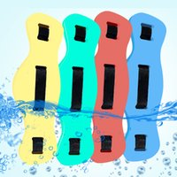 Wholesale foam plates wholesale - Adult Learning Swimming Belt Train Teaching Equipment Male And Female Use Foam Square Floating Plate Color Waistband 14ds W