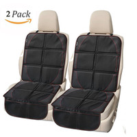 Wholesale Rear Child Seat - 2 Pcs Car Seat Protector Black Waterproof Universal Foldable Car Seat Cover Protector with Thickest Padding for Child & Baby Cars Seats